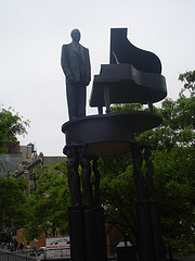 Duke Ellington Statue In Harlem