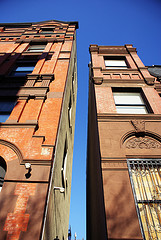 Two Buildings In Harlem