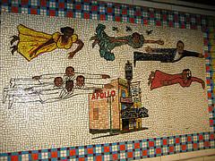 Nyc Subway Harlem Stop Mural