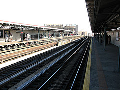 Jackson Heights, The Tracks Towards The Queen