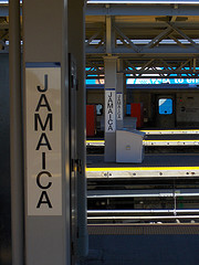 Nicely Composed Shot Of Jamaica Subway Station in Queens