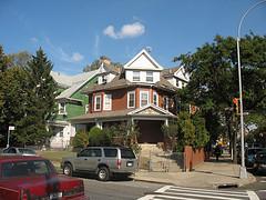 Single-family Victorian Houses At Marlborough Road, Kensington, Brooklyn