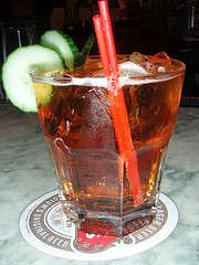 One Of The Many Delicious Drinks Served At Brooklyn's Knickerbocker Village
