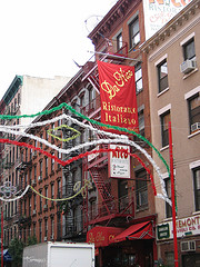 Mulberry Street, The Heart Of Manhattan??s Little Italy.