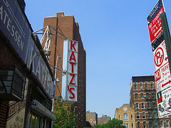 Katz's Famous Deli On The Lower East Side