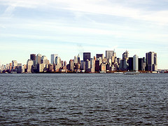 Lower Manhattan Or Downtown Manhattan,  The Southernmost Part Of Manhattan Island. And The Centre Of Business