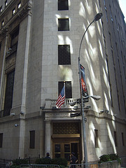 New York Stock Exchange(Nyse), Located At Wall Street In Lower Manhattan, New York City