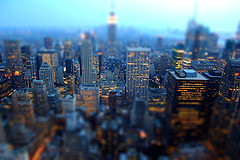 A Blurred Glimpse Into The Daily Grind Of A Financial Powerhouse, This Is Manhattan.