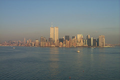 A View Of Manhattan From Across The River