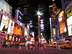 Lighting Up Every Where, Manhattan Looks Like An Advertising City