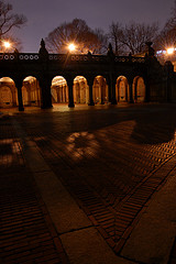 Bethesda Terrace, Glowing At Night