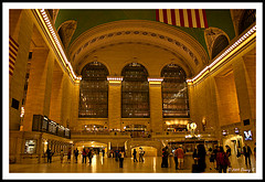 The Famed Grand Central Terminal On 42nd Street In Manhattan, Ny