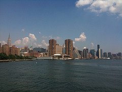 A View Of Midtown Manhattan From Across The River