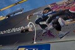 A Billboard On Skateboarding In Noho