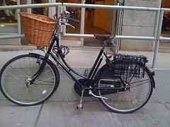 It's A Great Day To Ride You Bike  To Nolita.