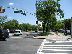 Intersection Of Avenue U And Ocean Parkway In Brooklyn