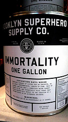 One Gallon Of Immortality From Brooklyn Superhero Supply Co.