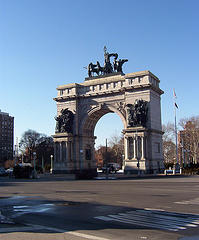 Grand Army Plaza, It Was Designed By Frederick Law Olmsted And Calvert Vaux In 1867
