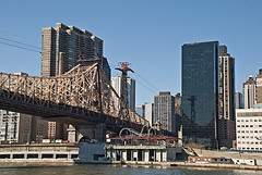 Roosevelt Island Bridge Provides Direct Access To The Motorgate Parking Garage