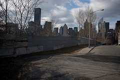A Great Look Back Into Town From Roosevelt Island.