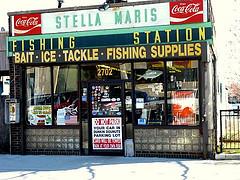 A Bait And Tackle Shop In Sheepshead Bay, Brooklyn