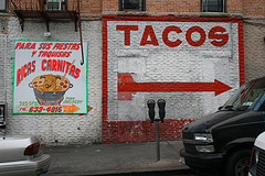 Want Some Crunchy Tacos? - Picture Of A Street Wall In Sunset Park