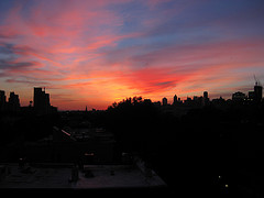 A Magnificent View - Now I Know Whey Its Named 'sunset Park' !, Located In Brooklyn, Usa