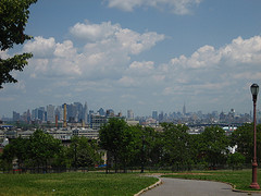 A View Overlooking The City, From Sunset Park Brooklyn