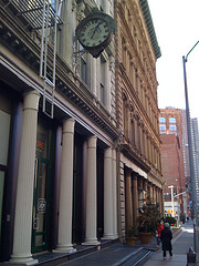 Tribeca, It Takes Its Name From The Acronym Tribeca, For Triangle Below Canal Street.