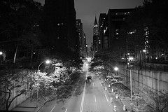 A Relaxing Night In Tudor City.