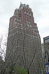 Outside Of The Tudor City Apartment Complex On Manhattan's East Side.