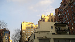 Apartment Buildings In The Upper East Side.