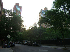 A View Of The Street In Upper East Side.