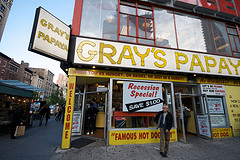 Gray??s Papaya More Than The Coconut Champagne Drinks, It Is About The Great Hot Dogs Also.