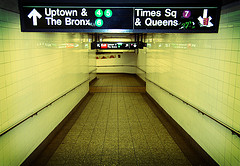 Ramp To The Uptown Train