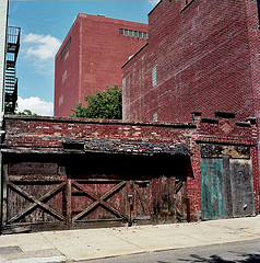 This Building Looks Like It Has Been Here For A While At Vinegar Hill In Brooklyn.
