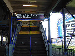 Willets Point Station Shea Stadium - Welcoming U !!!
