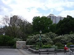 Carl Schurz Park On The Upper East Side In Spring