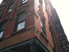 Brick Building At 10th Avenue/west 17th Street In Chelsea