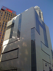 An All Glass Building Stands Tall At 2 Columbus Circle