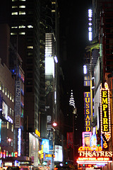 42nd Street Is A Major Cross-town Street In The New York City Borough Of Manhattan.