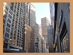 Inside These Clusters Of Buildings At 55th Street