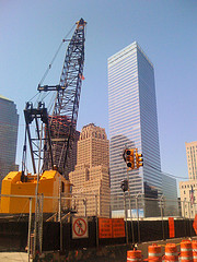 The New 7 World Trade Center Building At Ground Zero -- Original Building Was Destroyed On 9/11