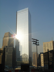 The New World Trade Center Built From 2002-2006 After The Terrorist Attack On September 11, 2001