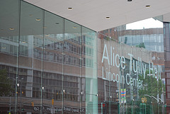 The Newly Renovated Alice Tully Hall At Lincoln Center