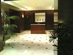 Entrance To The Executive Floors At The American Express Tower