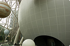 Hayden Planetarium At The American Museum Of Natural History On Manhattan
