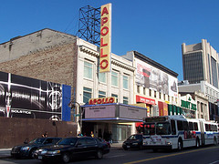 Harlem's Famous Apollo Theater Where Ella Fitzgerald Made Her Debut