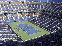 In Queens, Arthur Ashe Stadium Is Primed To Host The Us Open.