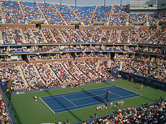A Great Day To Catch Some Tennis At Arthur Ashe Stadium.